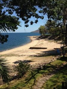 Caribea bay Kariba, out view at lunch