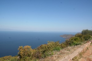View of Lake Kariba- too big for one photo