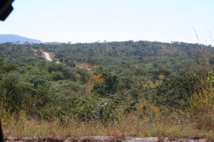 The beautiful road into Kariba