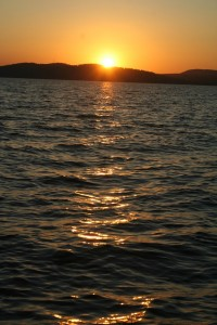 Sunset over Lake Kariba