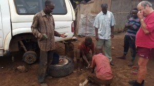 Bush mechanic Kigoma