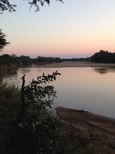 Sunset Chifundu camp