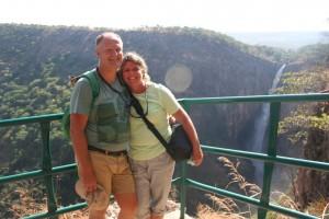 Us at Kalambo Falls