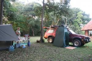 Ishasha Camp Site