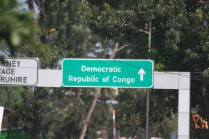 DRC border post