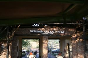 Masai Mara Entrance