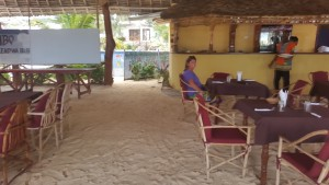 Kendwa Beach Dining Room