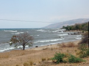 Waves on Lake Malawi