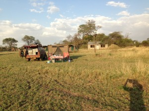 Serengeti Camp site