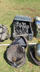 Portable Braai and Charcoal box