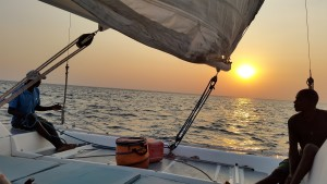 Chembe sunset