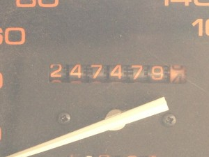 Odometer - after 247479km
